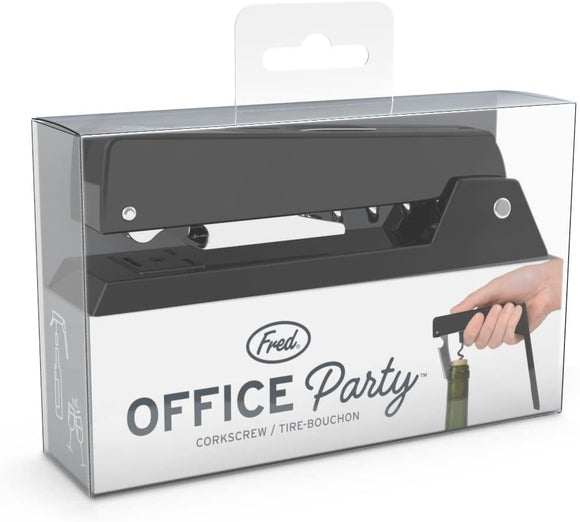 Office Party Stapler Style Corkscrew