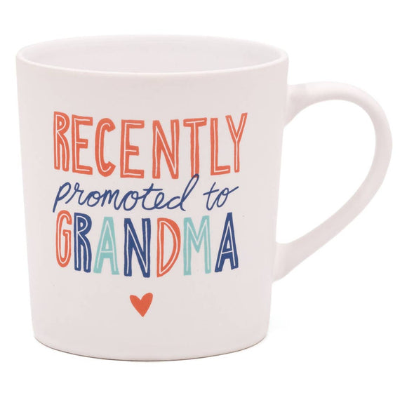 Promoted to Grandma Matte Mug