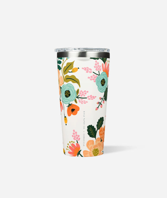 Rifle Paper x Corkcicle 16 oz- Gloss White