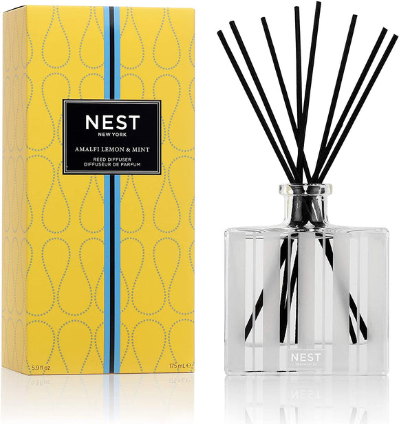 Amalfi Lemon & Mint Reed Diffuser