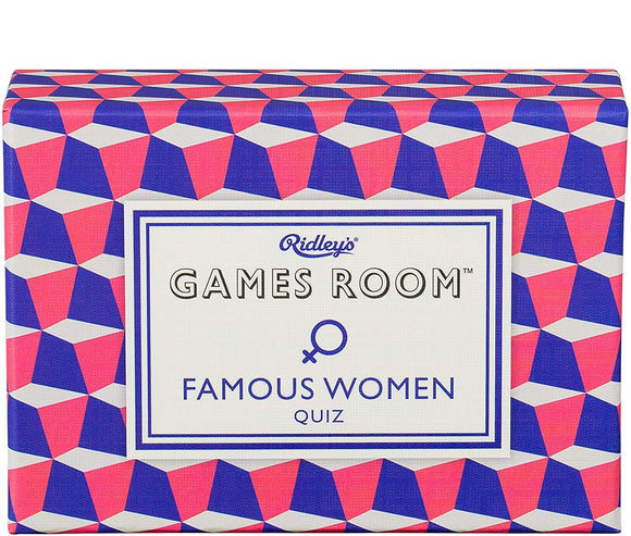 Famous Women Trivia Game