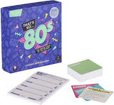 Thats So 80's Trivia Card Game