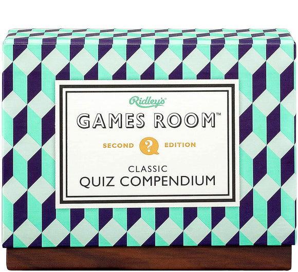Classic Quiz Compendium Set with 4 Trivia Quiz Decks