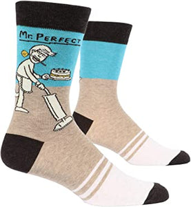 Mr. Perfect Men's Crew Socks