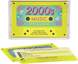 2000s Cassette Tape Song & Music Trivia Quiz Guess Game