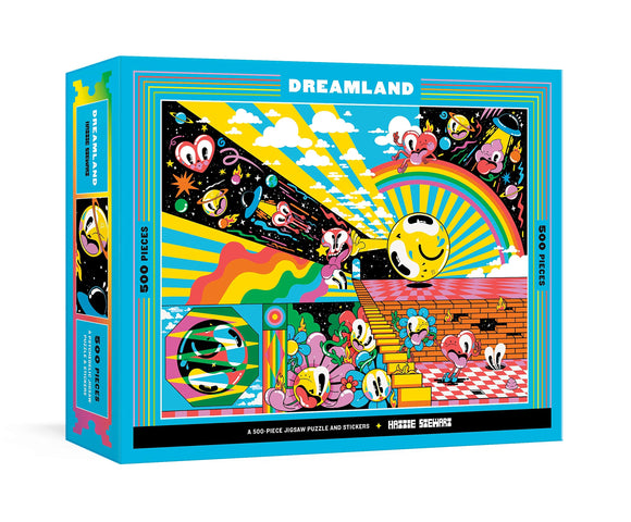 Dreamland 500 Piece Puzzle With Stickers