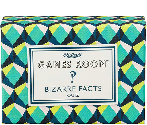 Bizarre Facts Trivia Game