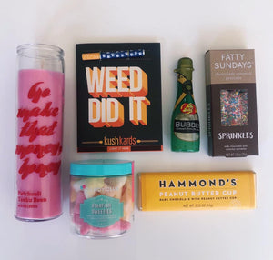 Weed Did It Graduation Box