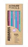 Astrology Pencils Aquarius