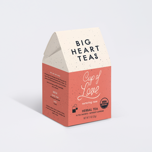 Big Heart Tea- Cup of Love
