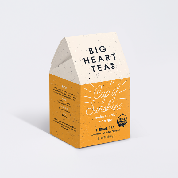 Big Heart Tea- Cup of Sunshine
