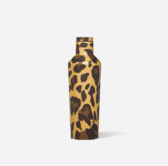 Luxe Leopard 16 oz Canteen