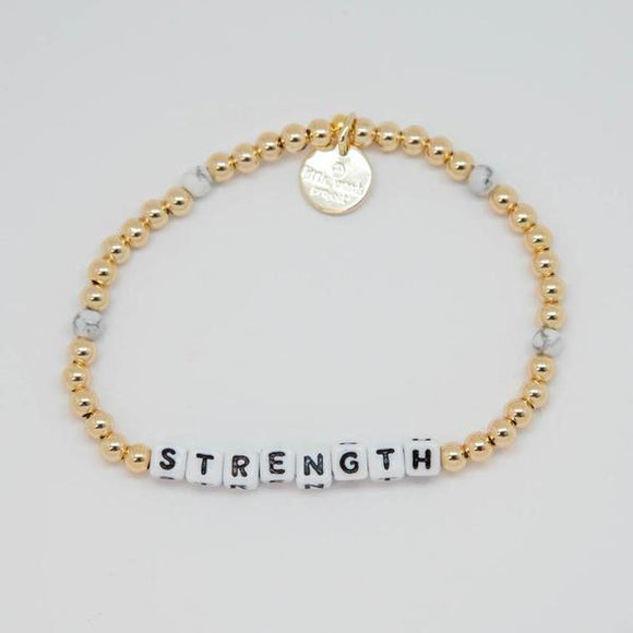 Strength Bracelet- Gold-Filled