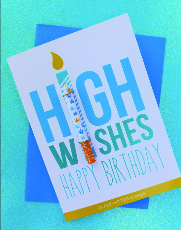 High Wishes Card