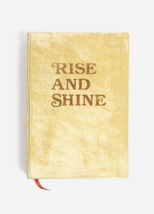 Rise and Shine Velvet Journal