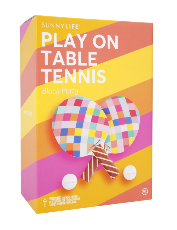 Play On Table Tennis- Block Party