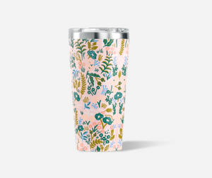 Rifle Paper x Corkcicle 16 oz- Pink Tapestry