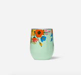 Rifle Paper x Corkcicle Stemless- Lively Floral Mint