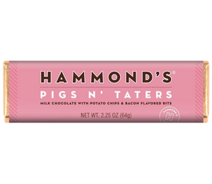 Pigs N Taters Milk Chocolate Hammond's Candy Bar