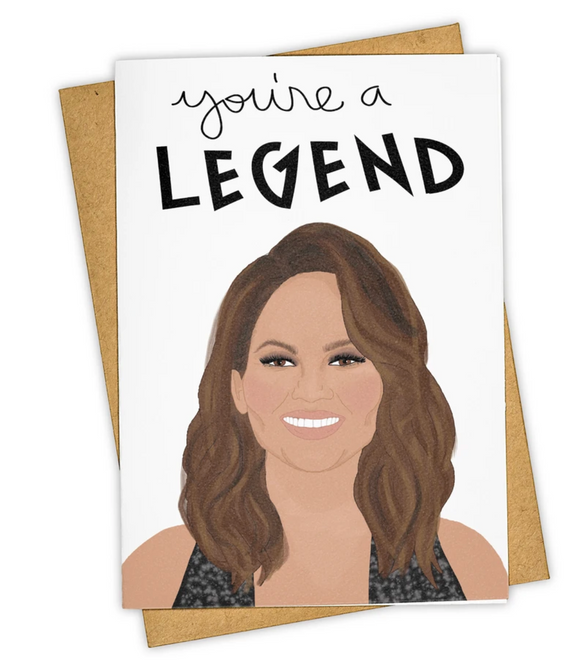 Chrissy Teigen Legend Card