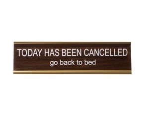 Today Cancelled Nameplate