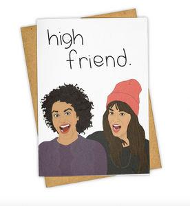 High Friend Card