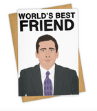 World's Best Friend Card