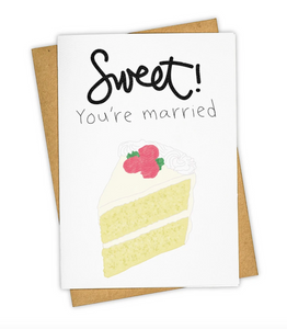 Sweet You're Married Card