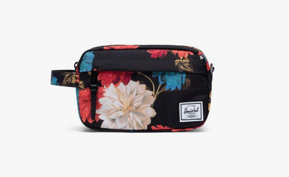 Chapter Carry On Travel Kit- Vintage Floral Black