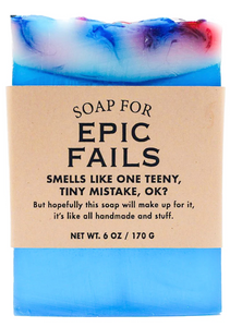 Epic Fails Soap
