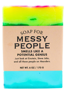 Messy People Soap