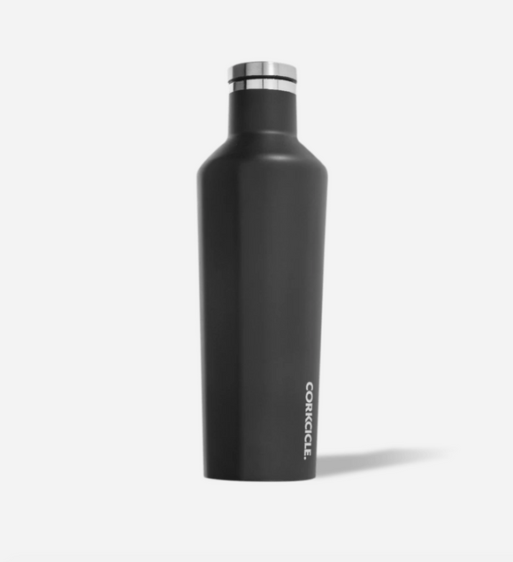 Matte Black 25 oz Canteen