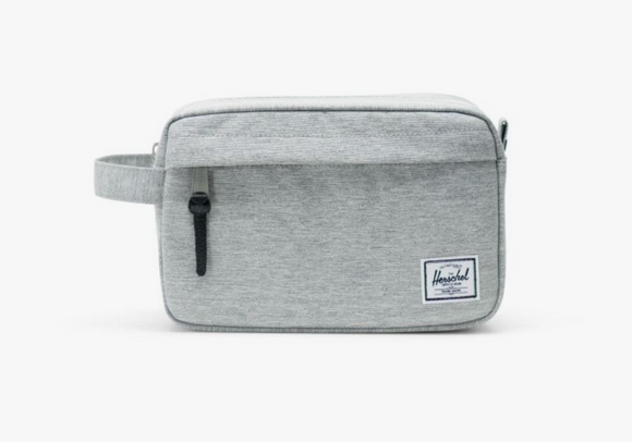 Chapter Travel Kit- Light Grey Crosshatch