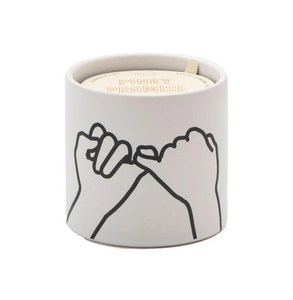 Pinky Promise- Wild Fig & Cedar Scented Candle