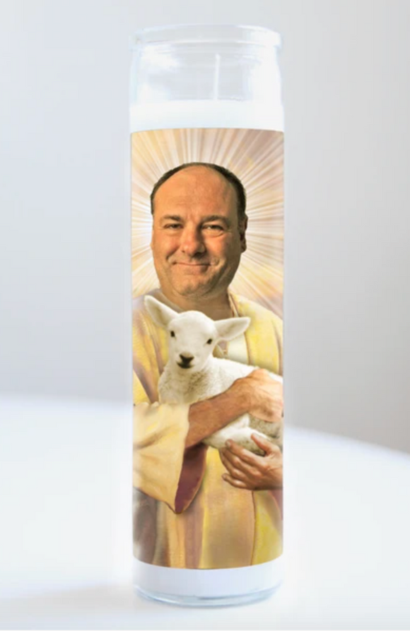 Tony Soprano Saint Candle