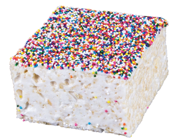 Rice Crispy Treat- Rainbow Nonpareils