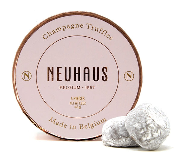 Champagne Chocolate Truffles- 4 Piece
