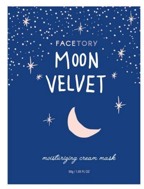 Moon Velvet Moisturizing Cream Sheet Mask