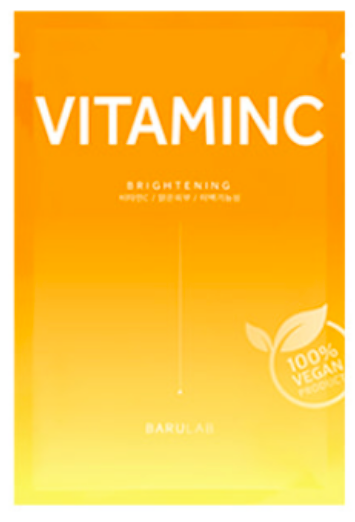The Clean Vegan Face Mask- Vitamin C