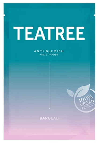 The Clean Vegan Face Mask- Tea Tree