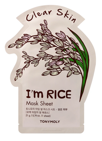 Tony Moly Sheet Mask- Rice