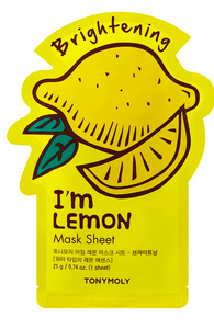 Tony Moly Sheet Mask- Lemon