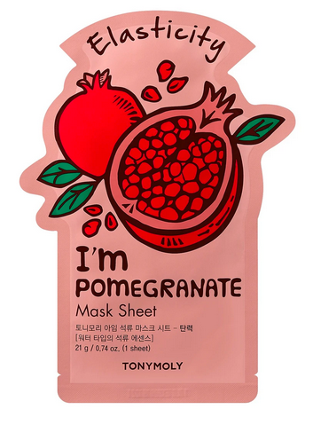 Tony Moly Sheet Mask- Pomegranate