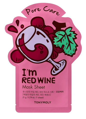 Tony Moly Sheet Mask- Red Wine