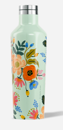 Rifle Paper Lively Floral 16 oz Canteen