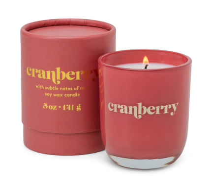 Cranberry Petite Candle