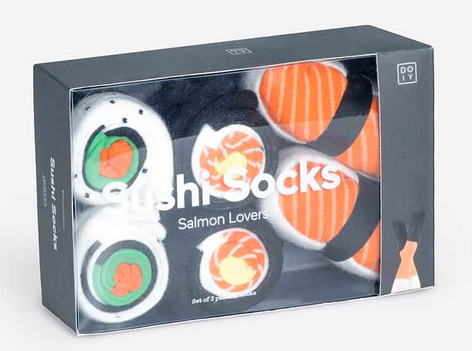 Sushi Lovers Socks- Set of Three