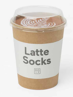 Latte Socks Brown