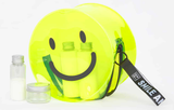 Smile and Shine Neon Yellow Bag