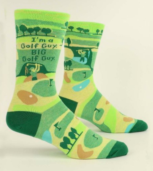 Big Golf Guy Men's Crew Socks